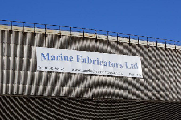Teesside Industrial Landscape, Marine Fabricators