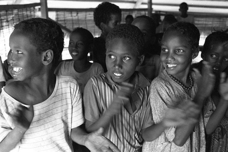 UNICEF Aid Work in Wajir, Kenya. Northeast Africa.