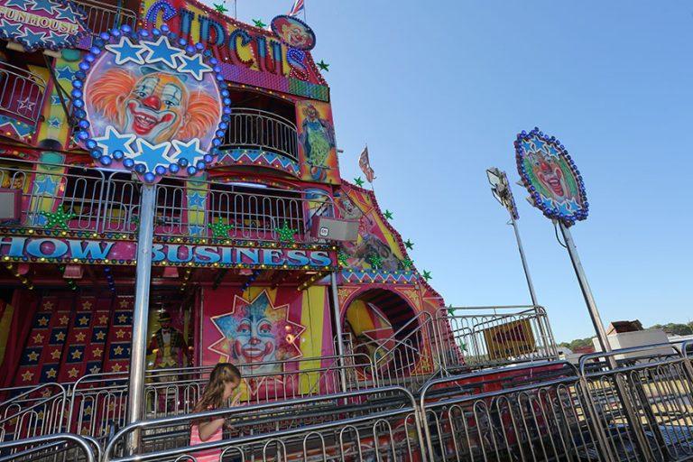 Newcastle Town Moor, Hoppings Fair, Funhouse