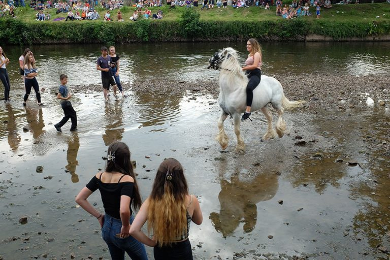 Appleby Horse Fair, River Eden