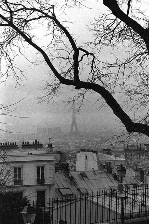 Paris, The Eiffel Tower from Montmartre