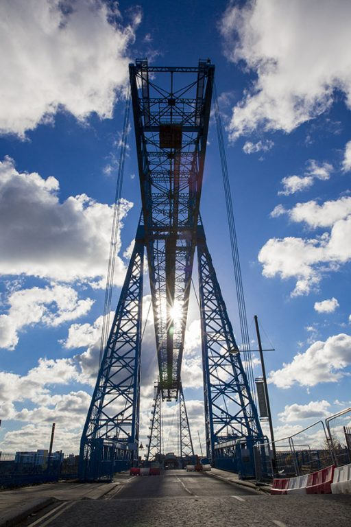 Teesside Industrial Landscape, Tees Transporter Bridge