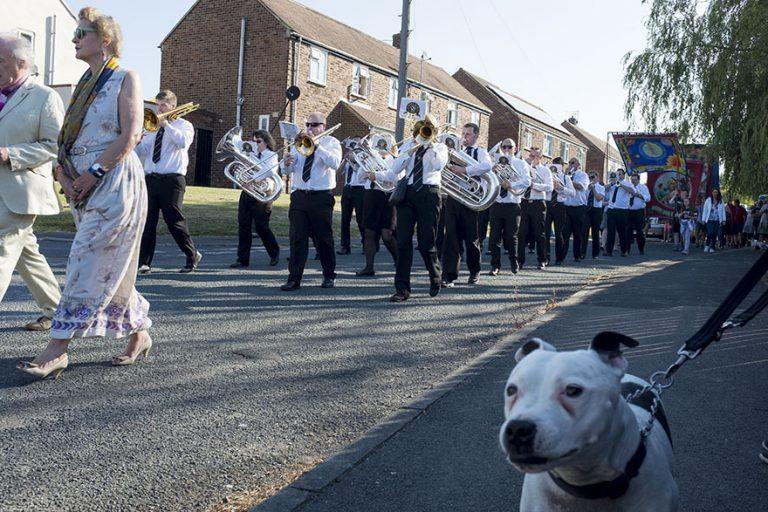 Durham Miners' Gala, Bowburn Colliery Village Brass Band