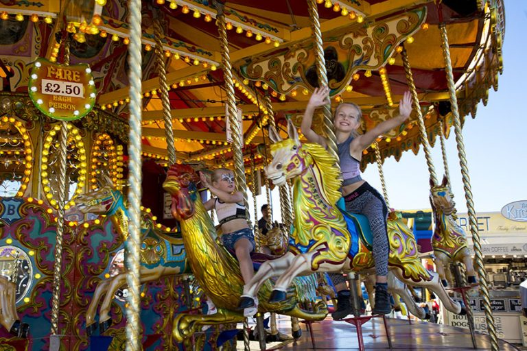 Newcastle Town Moor, Hoppings Fair, Carousel
